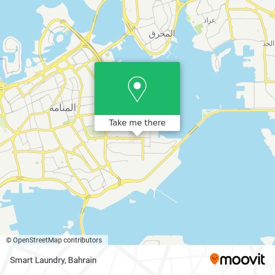 Smart Laundry map