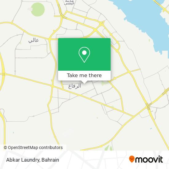 Abkar Laundry map