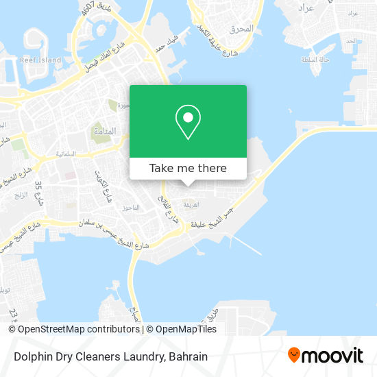Dolphin Dry Cleaners Laundry map