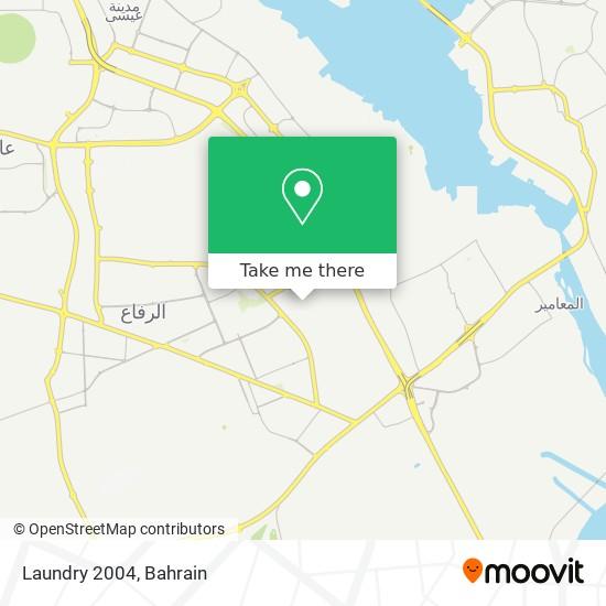 Laundry 2004 map