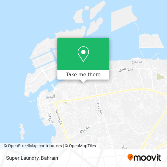 Super Laundry map