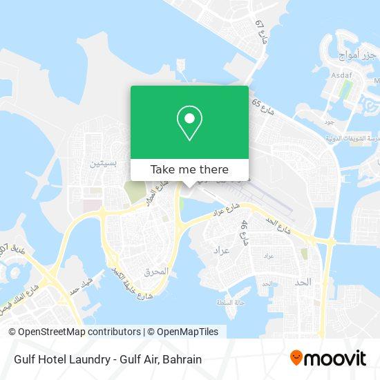 Gulf Hotel Laundry - Gulf Air map