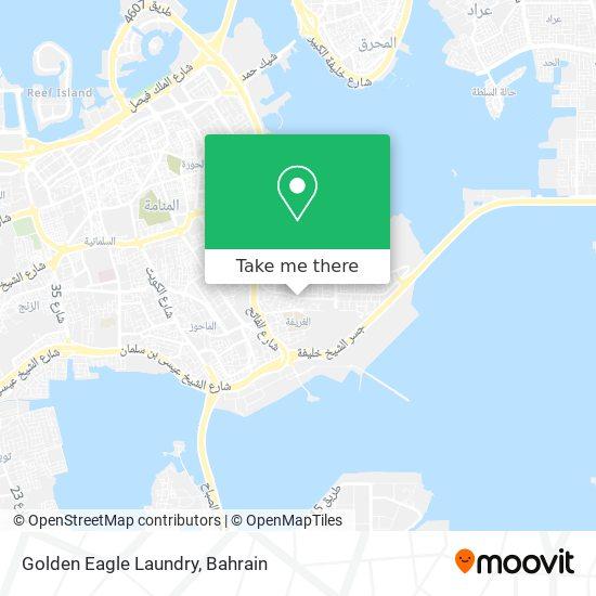 Golden Eagle Laundry map