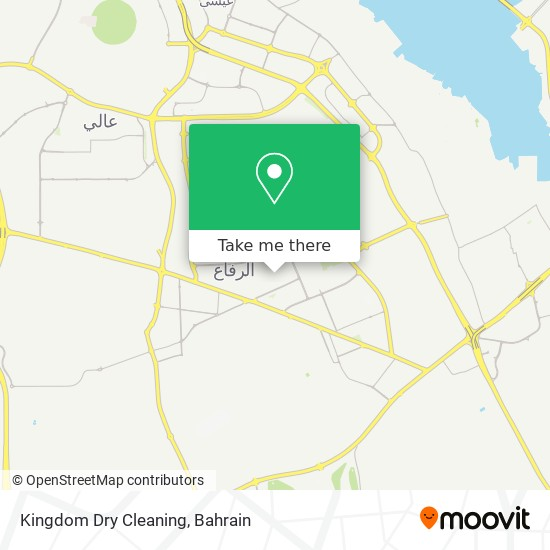 Kingdom Dry Cleaning map