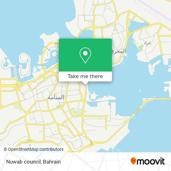 Nuwab council map