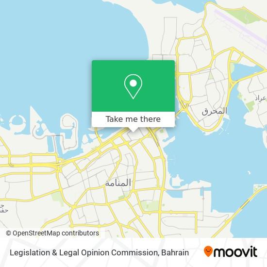 Legislation & Legal Opinion Commission map