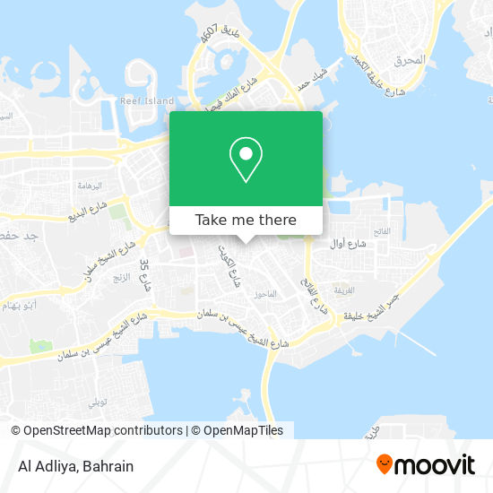 Al Adliya map