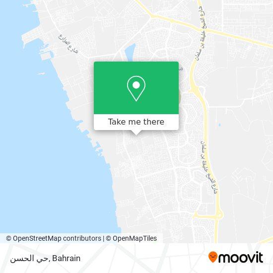 حي الحسن map