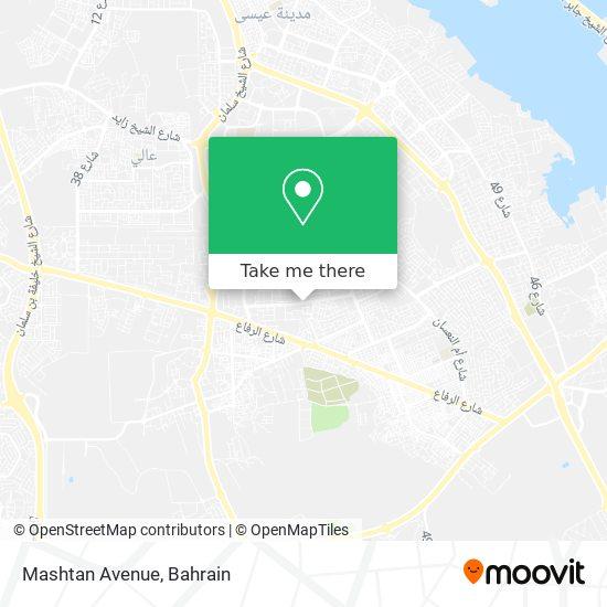 Mashtan Avenue map