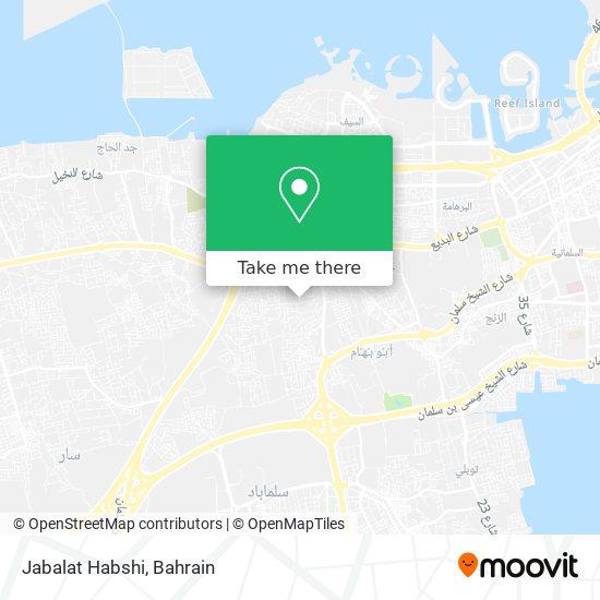 Jabalat Habshi map
