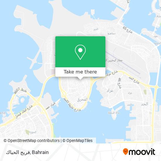 فريج الحياك map