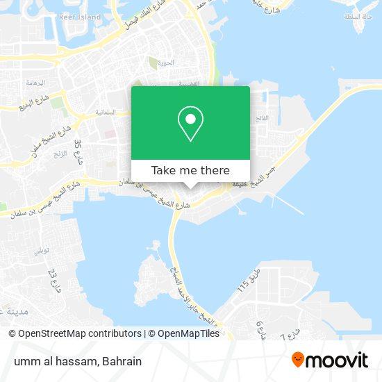 umm al hassam map