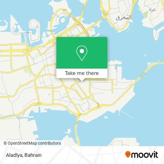 Aladlya map