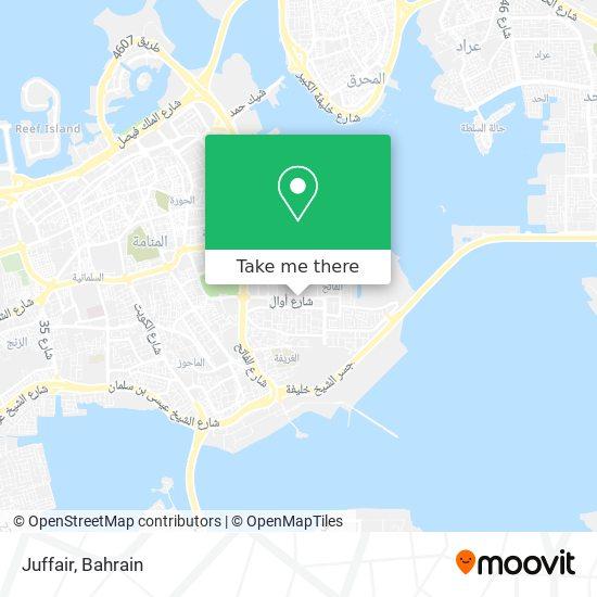 Juffair map