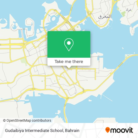Gudaibiya Intermediate School map