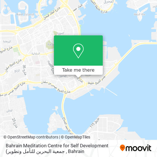 Bahrain Meditation Centre for Self Development map