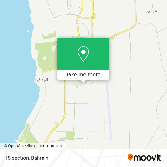 IS section map