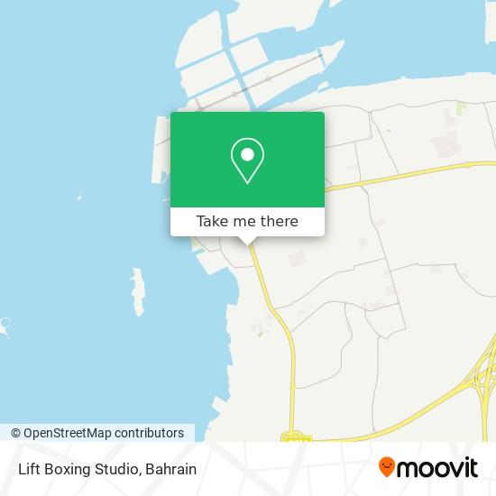 Lift Boxing Studio map