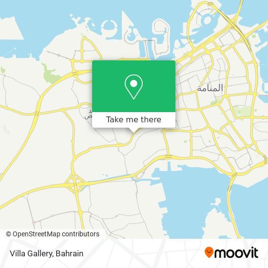 Villa Gallery map