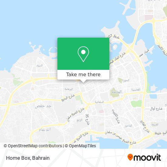 Home Box map