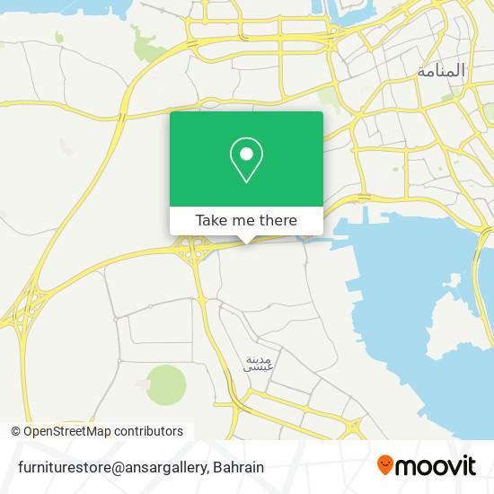furniturestore@ansargallery map