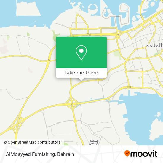 AlMoayyed Furnishing map