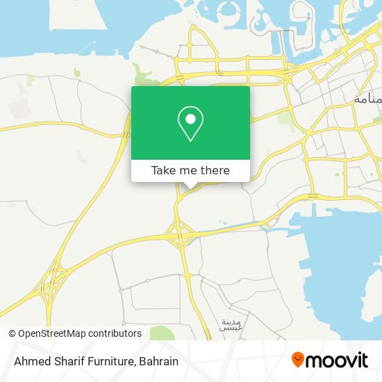 Ahmed Sharif Furniture map