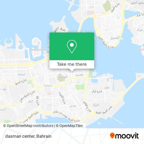 dasman center map