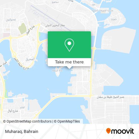 Muharaq map