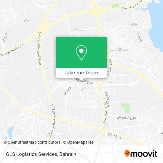 GLS Logistics Services map