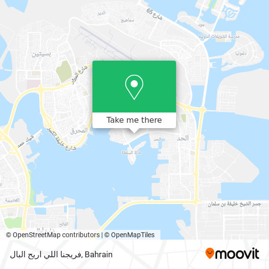فريجنا اللي اريح البال map