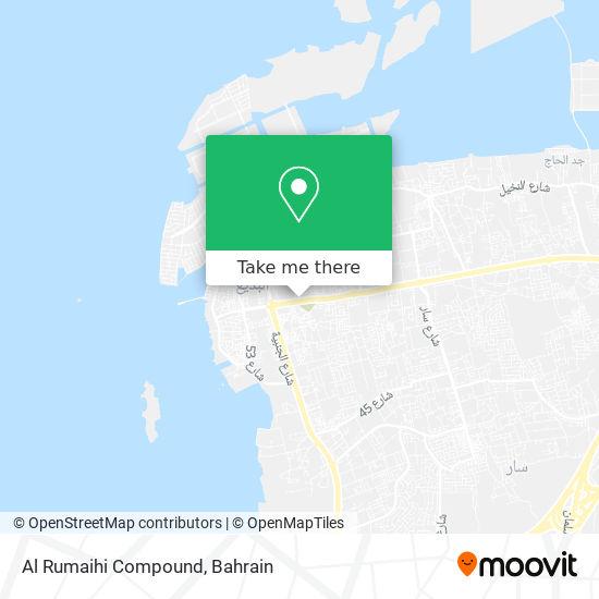 Al Rumaihi Compound map