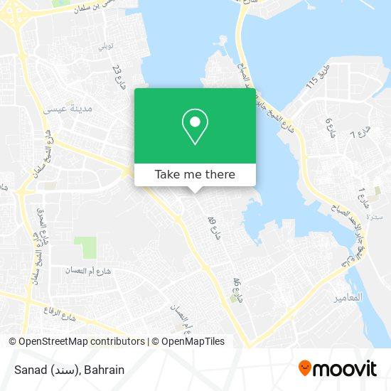 Sanad (سند) map