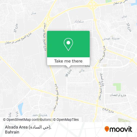 Alsada Area (حي السادة) map