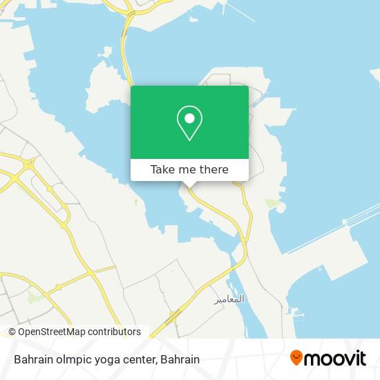 Bahrain olmpic yoga center map