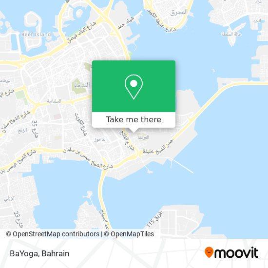 BaYoga map