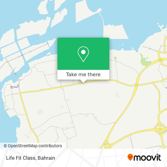 Life Fit Class map