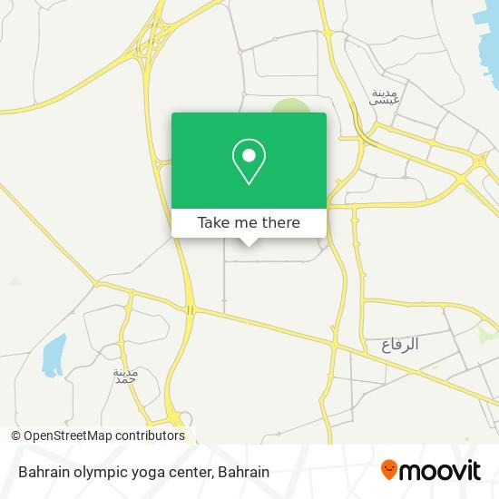 Bahrain olympic yoga center map