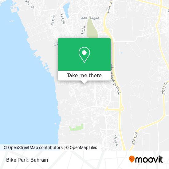 Bike Park map