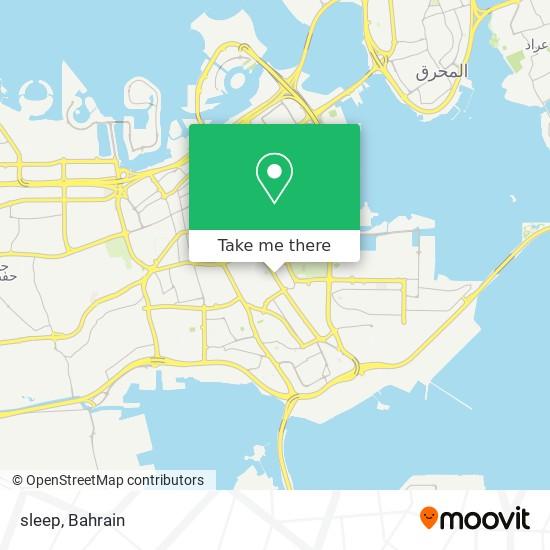 sleep map