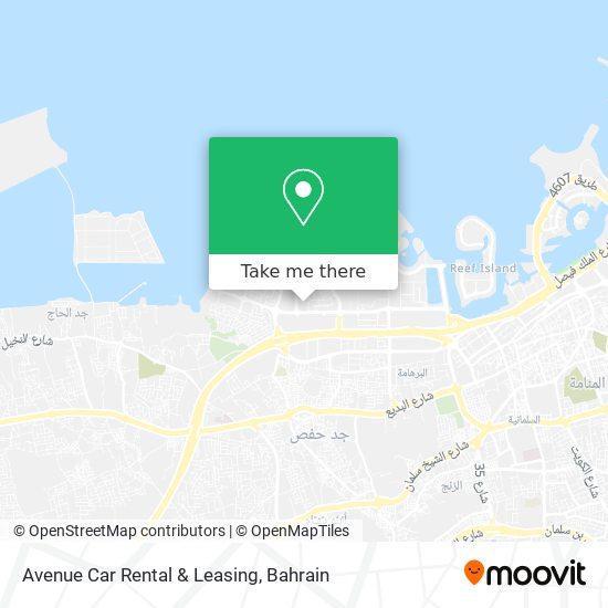 Avenue Car Rental & Leasing map