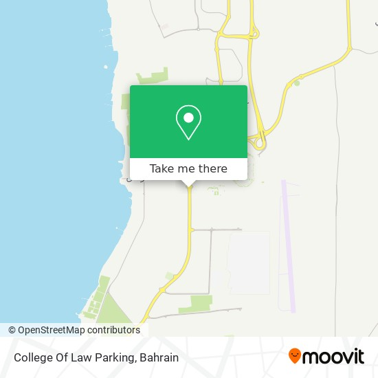 College Of Law Parking map