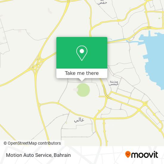 Motion Auto Service map