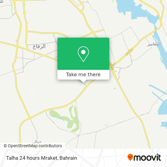 Talha 24 hours Mraket map