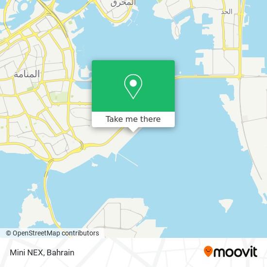 Mini NEX map