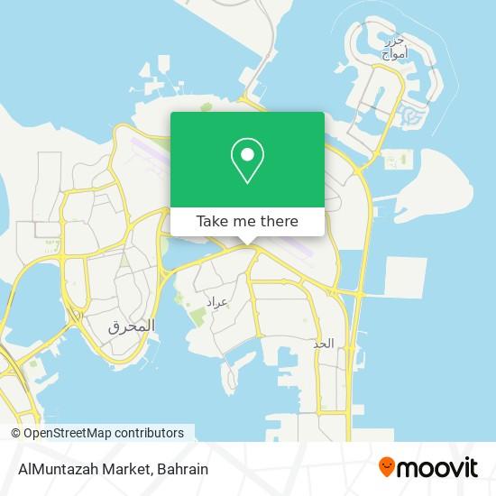 AlMuntazah Market map