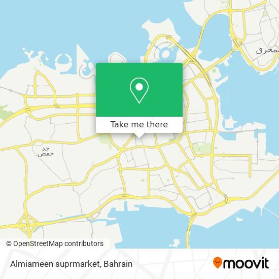 Almiameen suprmarket map