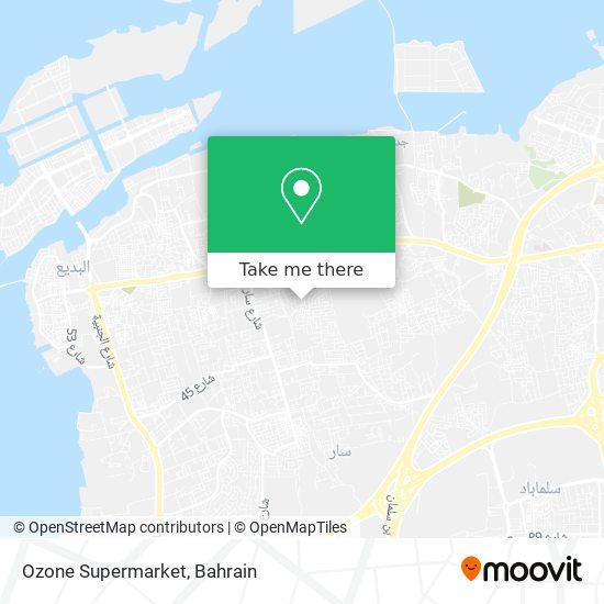 Ozone Supermarket map