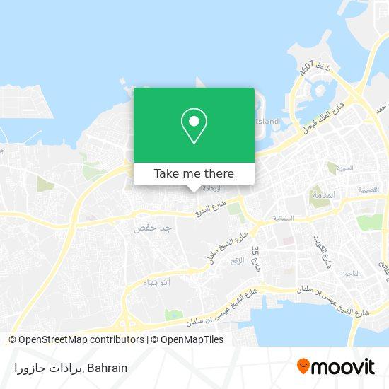 برادات جازورا map