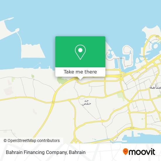 Bahrain Financing Company map
